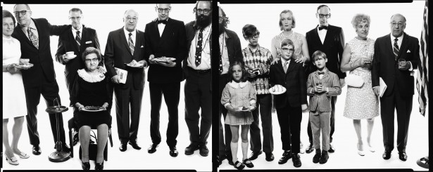 Richard Avedon, Allen Ginberg's family, 1970